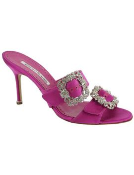 pink-satin-mulussanhan-double-crystal-strap-slide-mule-pump-sandals by manolo-blahnik
