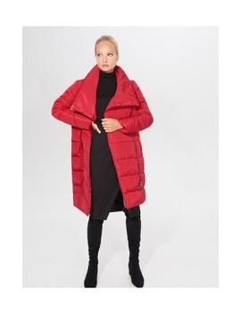 Pikowany Płaszcz Z Szerokim Kołnierzem by Mohito