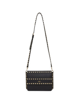 black-valentino-garavani-small-rockstud-shoulder-bag by valentino