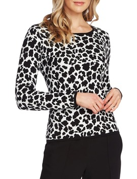 animal-jacquard-pullover by vince-camuto