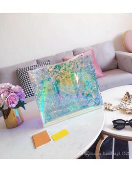 Fashion & Hot Design Jelly Shoulder Bag Clear Transparent Bucket Pvc Tote Handbag For Women Fashion Bags by D Hgate.Com