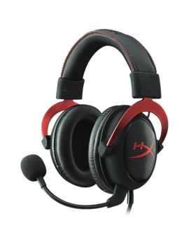 Hyper X Cloud Ii Pro Gaming Headset (Black/Red) by Game