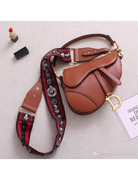 Famous Designer Womens Handbag New Letter Shoulder Bag High Quality Genuine Leather Messenger Bag Luxury Saddle Bag by D Hgate.Com