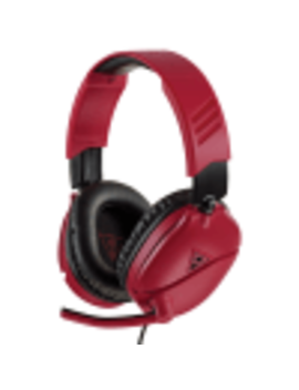 Turtle Beach Recon 70 N Midnight Red Gaming Headset For Nintendo Switch, Xbox One, Ps4, Mobile by Game