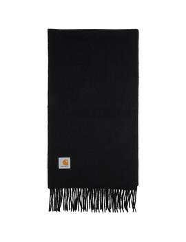 black-wool-clan-scarf by carhartt-work-in-progress