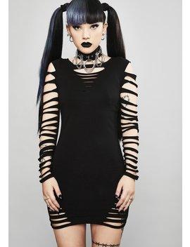portal-to-hell-shredded-dress by widow
