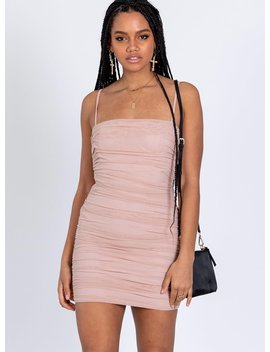 the-camey-mini-dress-baby-pink by princess-polly