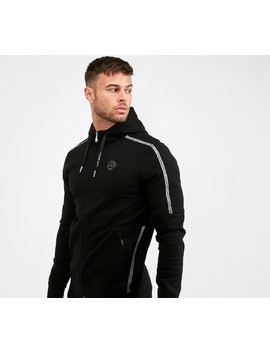 cosetta-tech-premium-full-zip-hooded-top-|-black by alessandro-zavetti