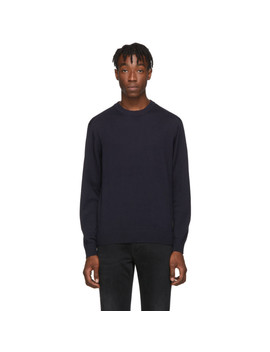 navy-lang-sweater by tiger-of-sweden-jeans