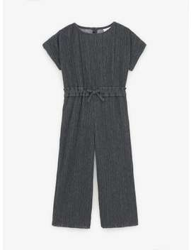 pleated-jumpsuit-with-bow-detail by zara