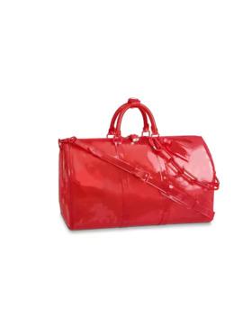 2019 New Pattern Classic Luxury Laser Flash Pvc Designer Handbags Keepall 50cm Transparent Duffle Bag Brilliant Colour Luggage Tra1564829982 by D Hgate.Com