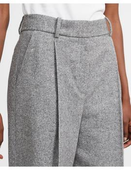 speckled-wool-pleated-trouser by theory
