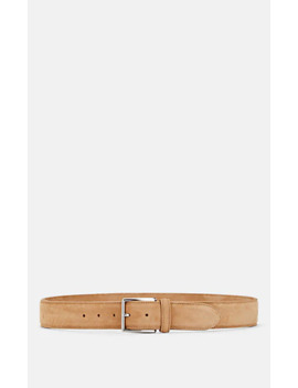 nubuck-leather-belt by barneys-new-york