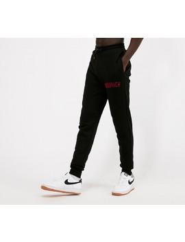 Og Drip Fleece Pant | Black / Red by Hoodrich