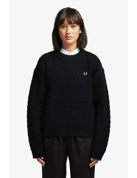 Textured Jumper by Fred Perry