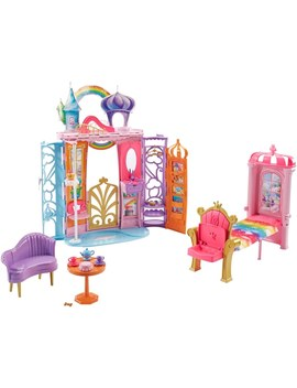 Barbie Dreamtopia Castle Portable Playset With Accessories by Smyths