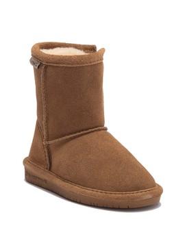 emma-side-zip-genuine-wool-lined-boot-(toddler-&-little-kid) by bearpaw