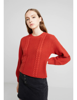 nmjulle-o-neck-cable---jumper by noisy-may