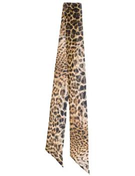 sciarpa-leopardata by saint-laurent