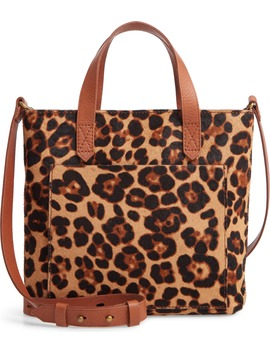 small-transport-leopard-calf-hair-crossbody by madewell