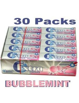 new-wrigleys-30-packets-extra-chewing-gum-bubblemint-sugar-free-wrigleys-packs by ebay-seller