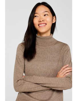 Basic Pullover Mit Rollkragen by Esprit
