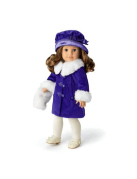 Rebecca's Winter Coat For 18 Inch Dolls by American Girl