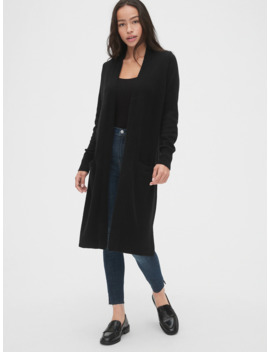 Open Front Duster Cardigan by Gap