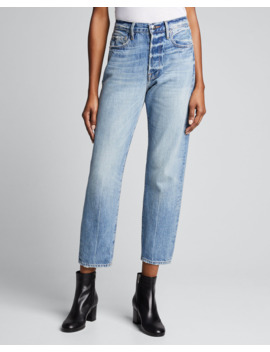 Le Sylvie High Rise Straight Crop Jeans by Frame