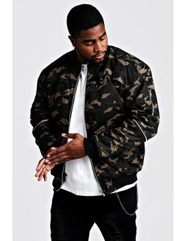 big-&-tall-camo-utility-jacket by boohoo
