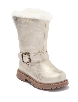 june-faux-fur-boot-(baby-&-toddler) by carters