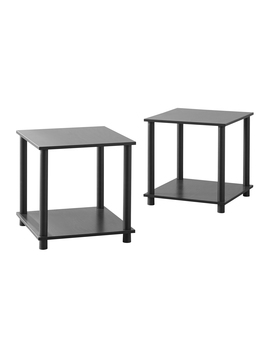 mainstays-no-tools-2-pack-end-table-multiple-colors by mainstays