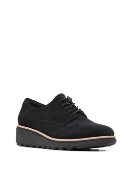 sharon-noel-suede-wedge-derby---wide-width-available by clarks