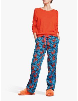 hush-fish-cotton-pyjama-bottoms,-blue_fiesta by hush