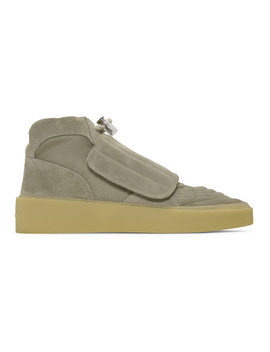 taupe-skate-high-top-sneakers by fear-of-god