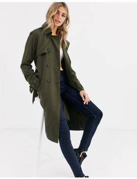 pimkie-trench-coat-in-khaki by pimkie