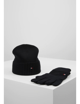 pima-beanie-gloves-set---hansker by tommy-hilfiger