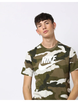 As M Nsw Ss Tee Camo 1 T Shirt by Nike