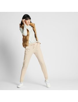 women-fleece-lined-joggers-(1) by uniqlo