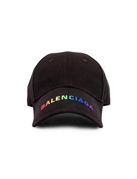 adjustable-rainbow-baseball-hat by balenciaga