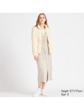 women-fluffy-fleece-zipped-jacket-(3) by uniqlo