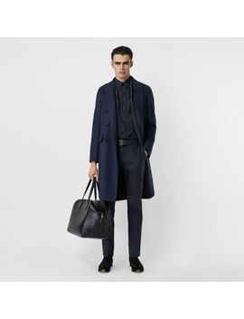 double-faced-wool-cashmere-tailored-coat by burberry