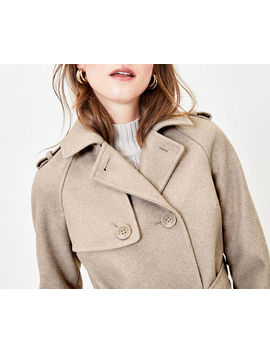 Double Breasted Trench by Oasis