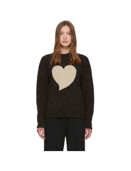 black-intarsia-heart-sweater by alexachung