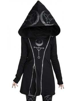 Twin Moon Hoodie by Restyle