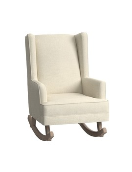 Modern Wingback Convertible Rocking Chair & Ottoman by Pottery Barn Kids