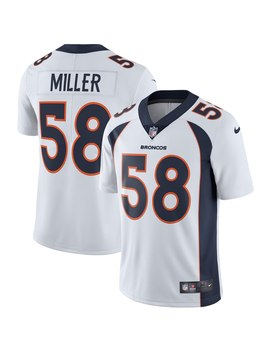 Von Miller Denver Broncos Nike Vapor Untouchable Limited Player Jersey   White by Nike