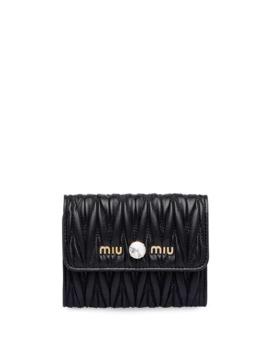 logo-plaque-wallet by miu-miu