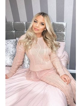 light-pink-mesh-insert-jumper-and-leggings-co-ord---laurie by rebellious-fashion