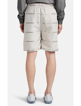 logo-basketball-shorts by a-cold-wall*